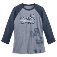 Image of Mickey Mouse Baseball T-Shirt for Adults - Walt Disney World 2018 # 1