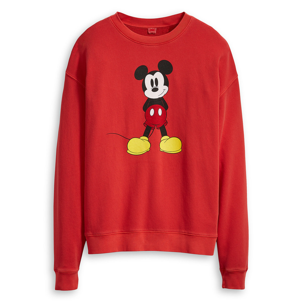 c36d0f9d3db5 Mickey Mouse Sweatshirt for Women by Levi s - Red