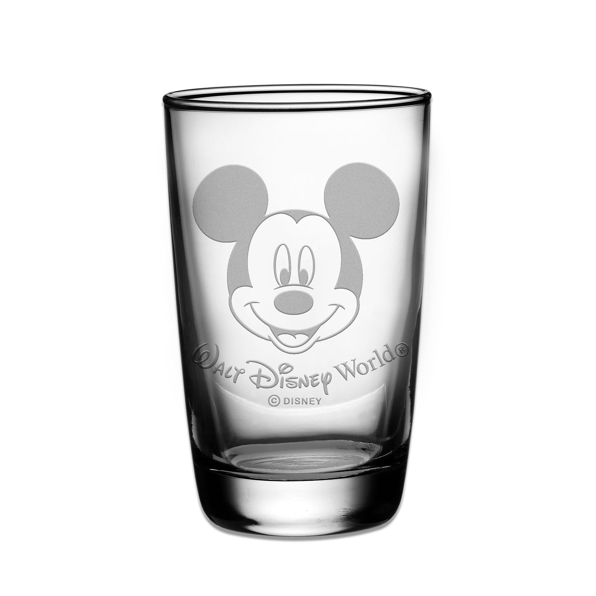 Mickey Mouse Juice Glass by Arribas - Personalizable