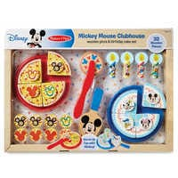 Image of Mickey Mouse Clubhouse Wooden Pizza & Birthday Cake Set by Melissa & Doug # 2