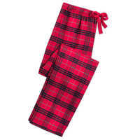 Image of Minnie Mouse Holiday Plaid PJ Set for Women - Personalizable # 6