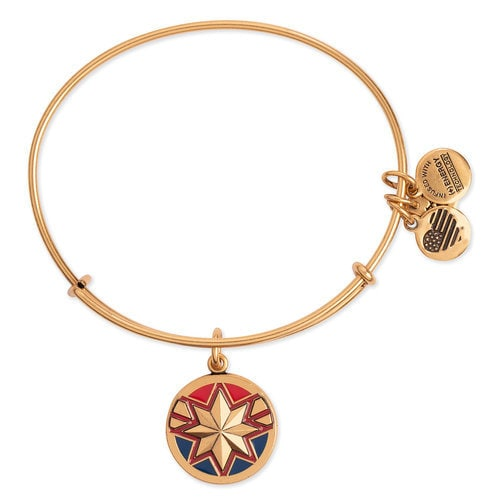 Alex and Ani Captain Marvel Bangle Bracelet