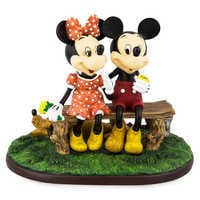 Image of Mickey Mouse and Minnie Mouse ''Puppy Love'' Figurine # 1