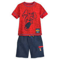 Image of Tramp T-Shirt and Shorts Set for Boys - Disney Furrytale friends # 1