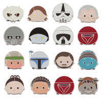 Image of Star Wars ''Tsum Tsum'' Series 3 Mystery Pin Pack # 1