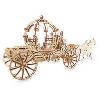 Image of Cinderella Carriage Wooden Puzzle by UGears # 2