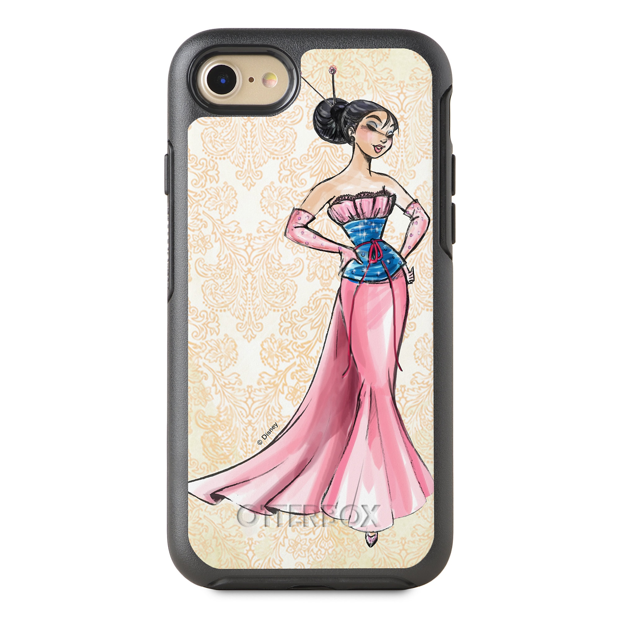 Mulan iPhone 8/7 Case - Art of Princess Designer Collection