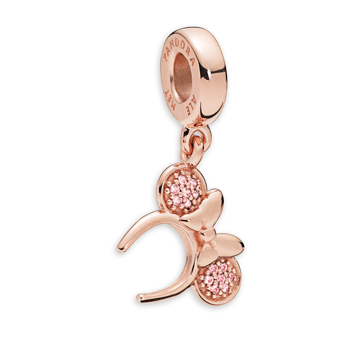 49fdf7481 Product Image of Minnie Mouse Rose Ear Headband Charm by Pandora Jewelry # 1