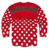 Image of Minnie Mouse Polka Dot Spirit Jersey for Girls - Walt Disney World # 2