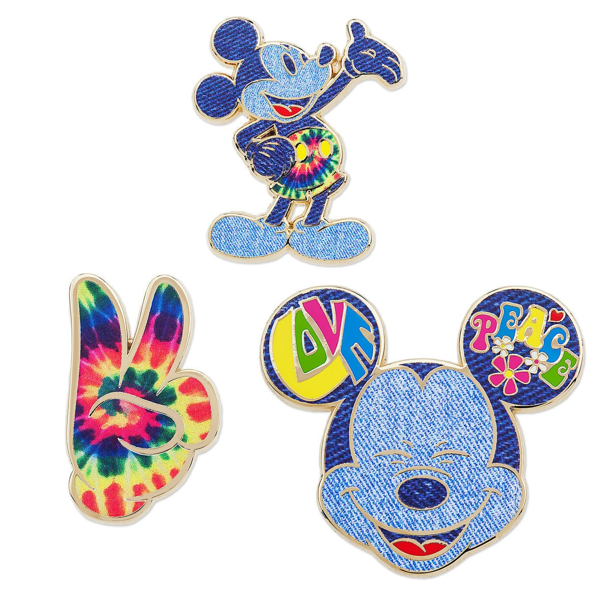 Mickey Mouse Memories Pin Set - June - Limited Release | shopDisney