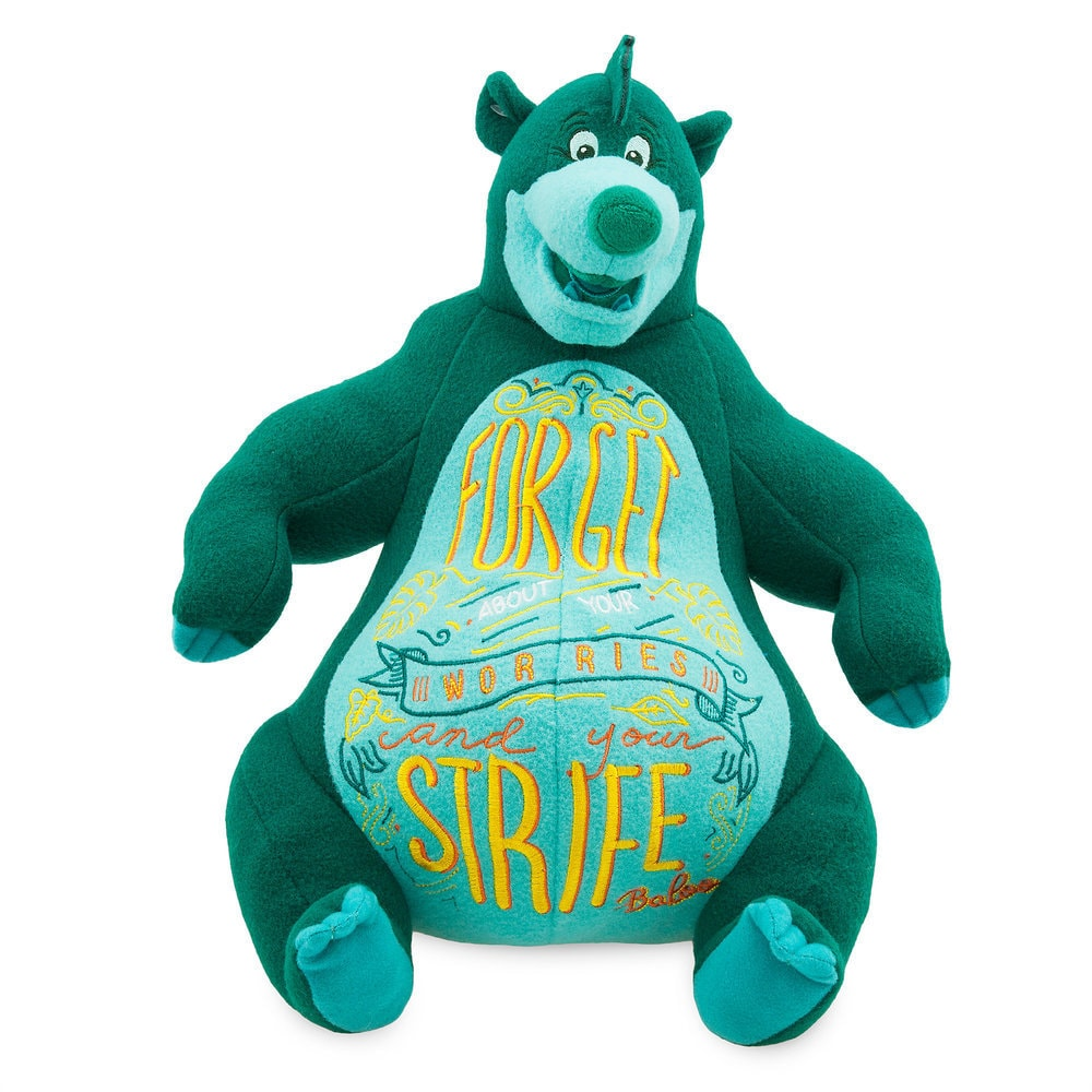 Disney Wisdom Plush - Baloo - The Jungle Book - March - Limited Release