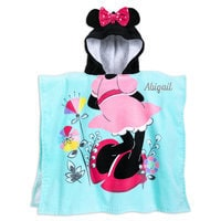Image of Minnie Mouse Hooded Towel for Kids - Personalizable # 1