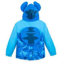 Image of Stitch Packable Rain Jacket and Attached Carry Bag for Kids # 3