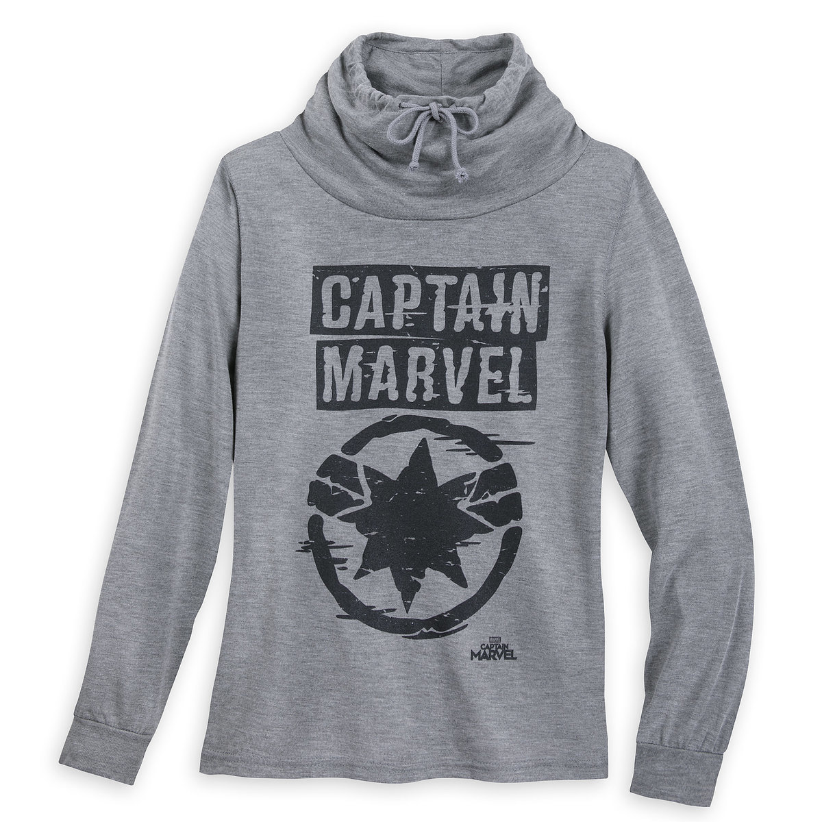 769f4fb5 Product Image of Marvel's Captain Marvel Cowl Neck Sweater for Juniors # 1