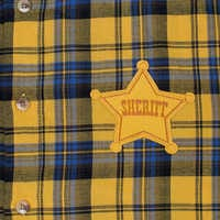 Image of Woody Flannel Shirt for Adults by Cakeworthy - Toy Story 4 # 3