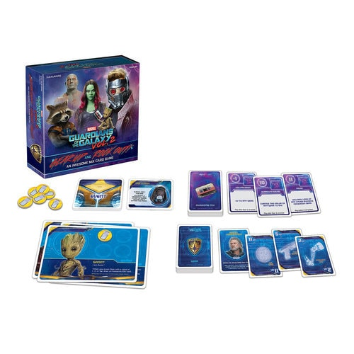 Guardians of the Galaxy Vol. 2 ? Gear Up and Rock Out! An Awesome Mix Card Game