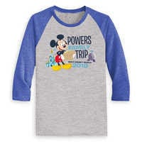 Image of Mickey Mouse Family Vacation Raglan Shirt for Men - Walt Disney World 2019 - Customized # 3