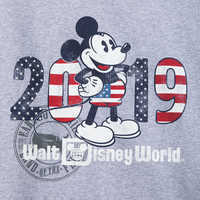 Image of Mickey Mouse Americana T-Shirt for Men - Walt Disney World 2019 # 2
