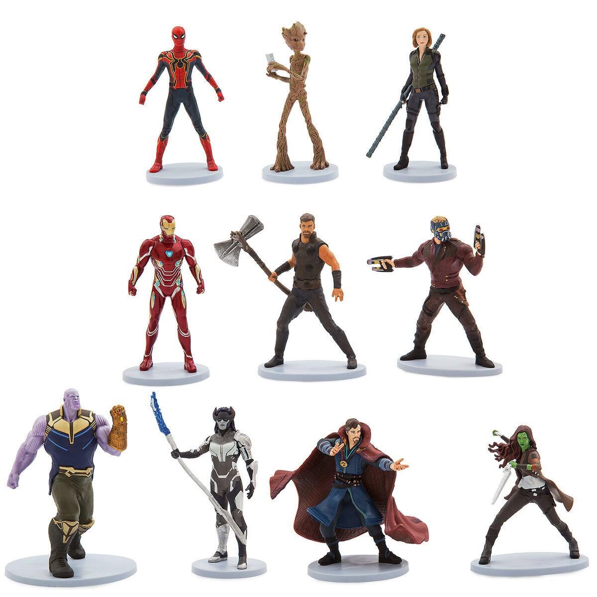 marvel's avengers: infinity war deluxe figure set | shopdisney