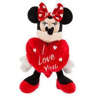 Image of Minnie Mouse ''I Love You'' Valentine Plush - Small # 1