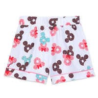 Image of Mickey and Minnie Mouse Donut Pajama Set for Women # 5