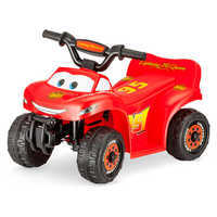 Image of Lightning McQueen Electric Ride-On Quad # 1