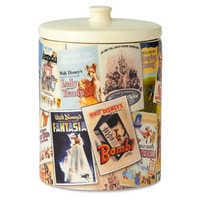 Image of Walt Disney Classic Film Poster Collage Kitchen Canister # 3