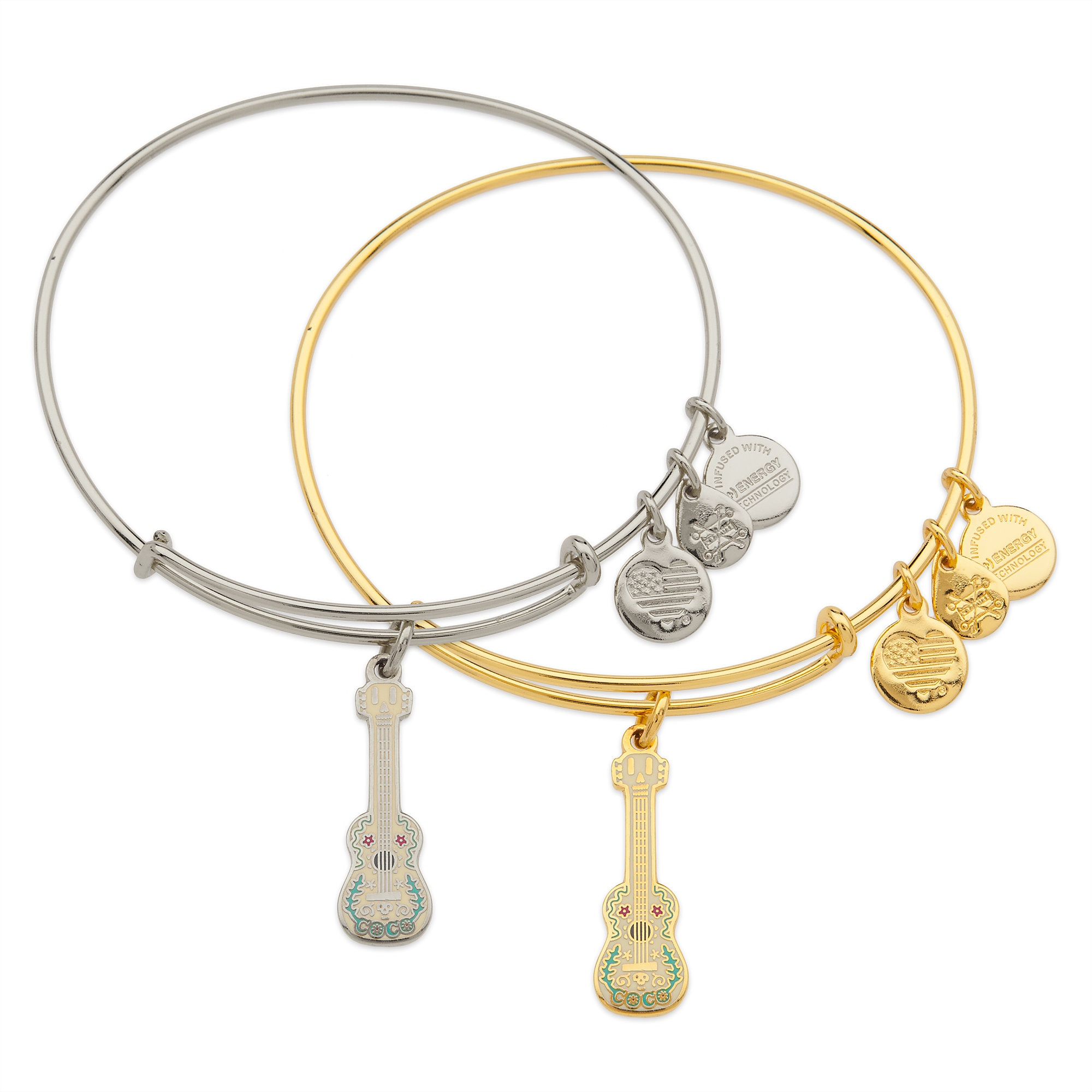 Coco Guitar Charm Bracelet - Alex and Ani
