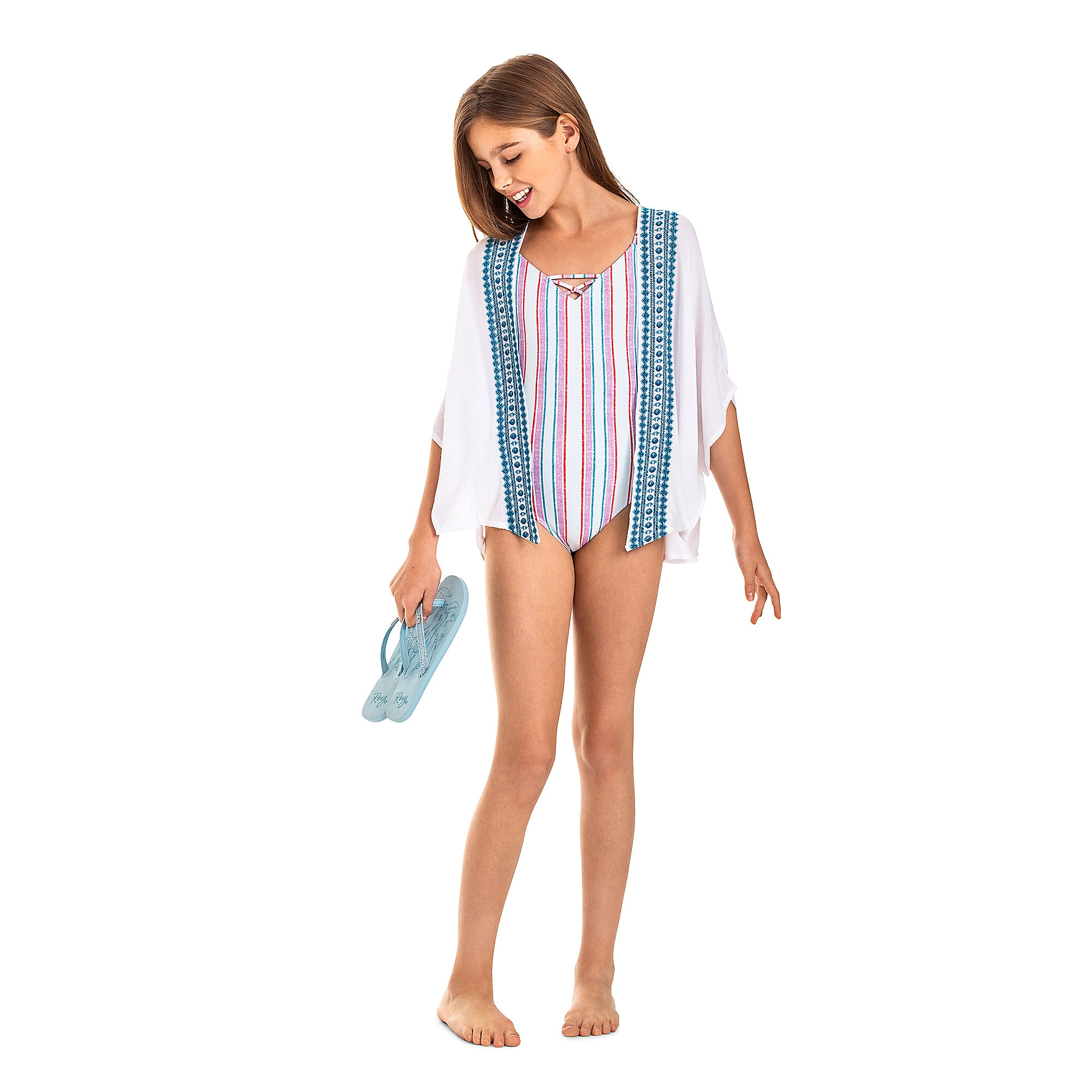 The Little Mermaid Kimono for Girls by ROXY Girl
