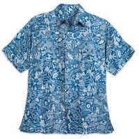 Image of Aulani, A Disney Resort & Spa Aloha Shirt with Shell Buttons for Men by Tori Richard # 1