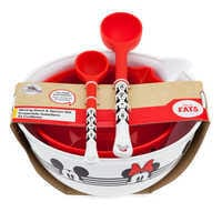 Image of Mickey and Minnie Mouse Mixing Bowl and Spoon Set - Disney Eats # 2