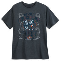 Image of Mickey Mouse Steamboat Willie T-Shirt for Men 2018 - Disney Cruise Line # 1