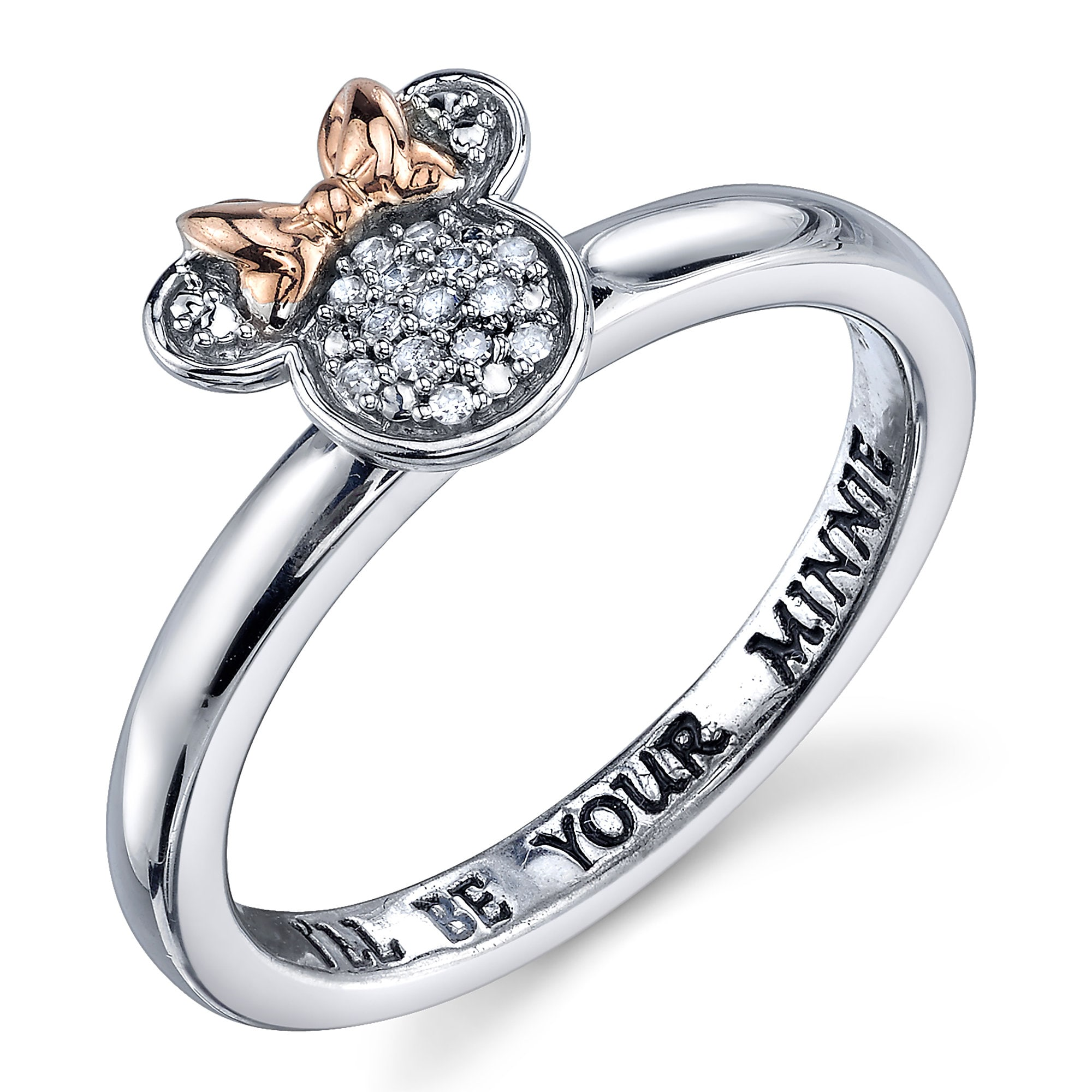 Minnie Mouse Diamond Ring For Women Shopdisney