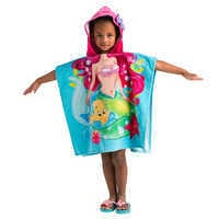 Image of Ariel Hooded Towel for Kids - Personalizable # 2