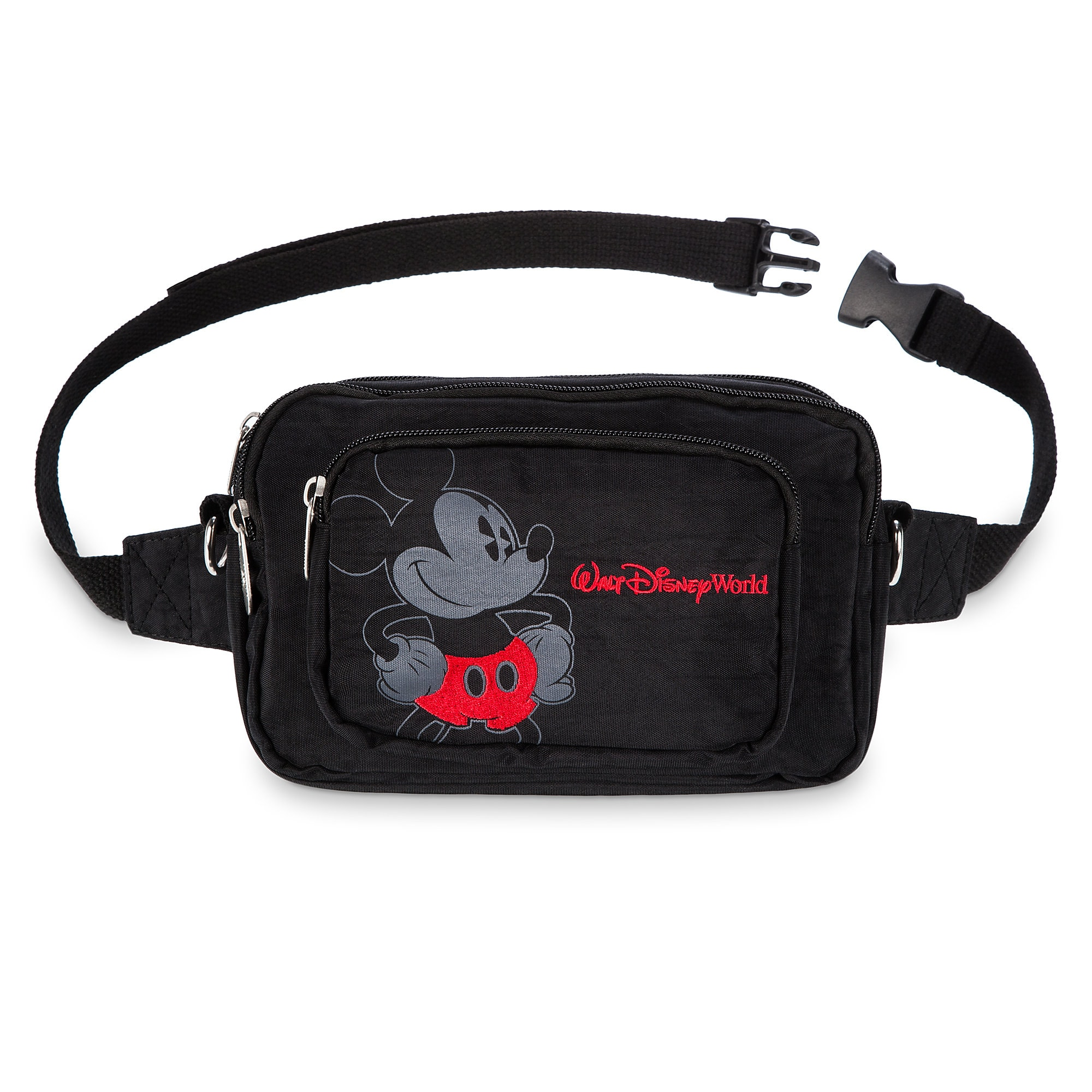 NEW MM 28 Disney Park Mickey Mouse Adjustable Fanny Pack