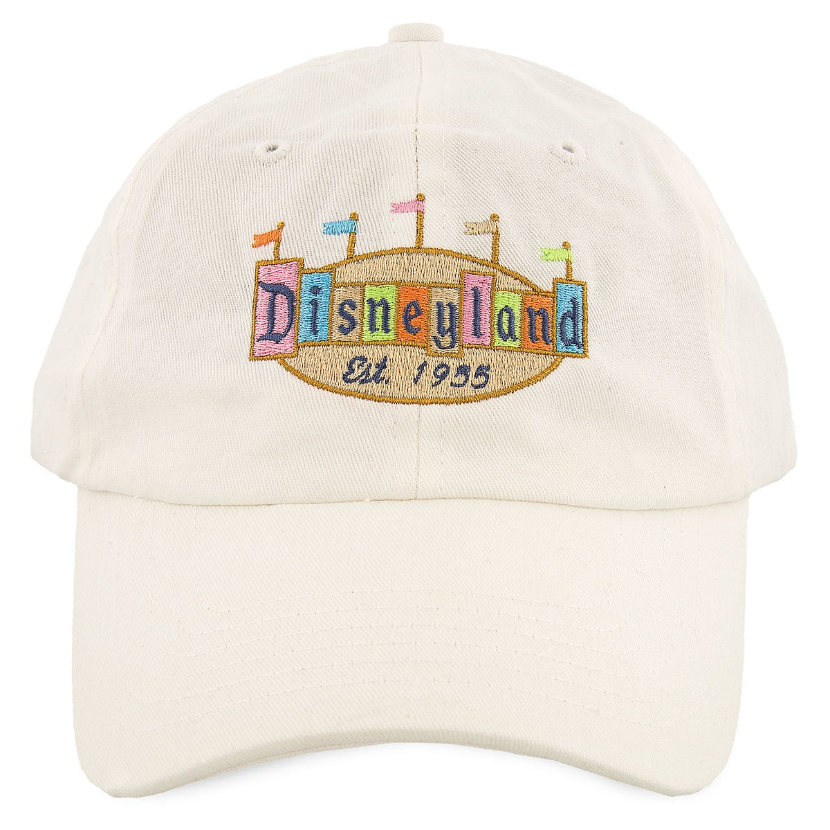Product Image of Disneyland Retro Baseball Cap for Adults   1 621edd7e0d5