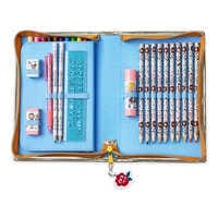 Image of Disney Animators' Collection Belle Zip-Up Stationery Kit # 2