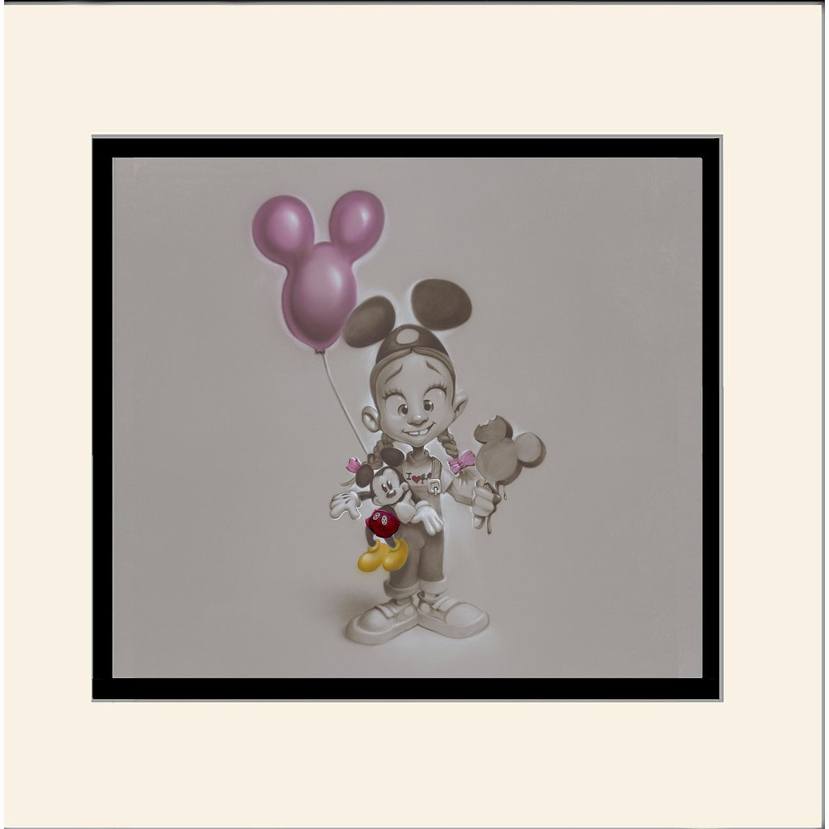 Product Image of ''Making Mickey Memories'' Deluxe Print by Noah # 1