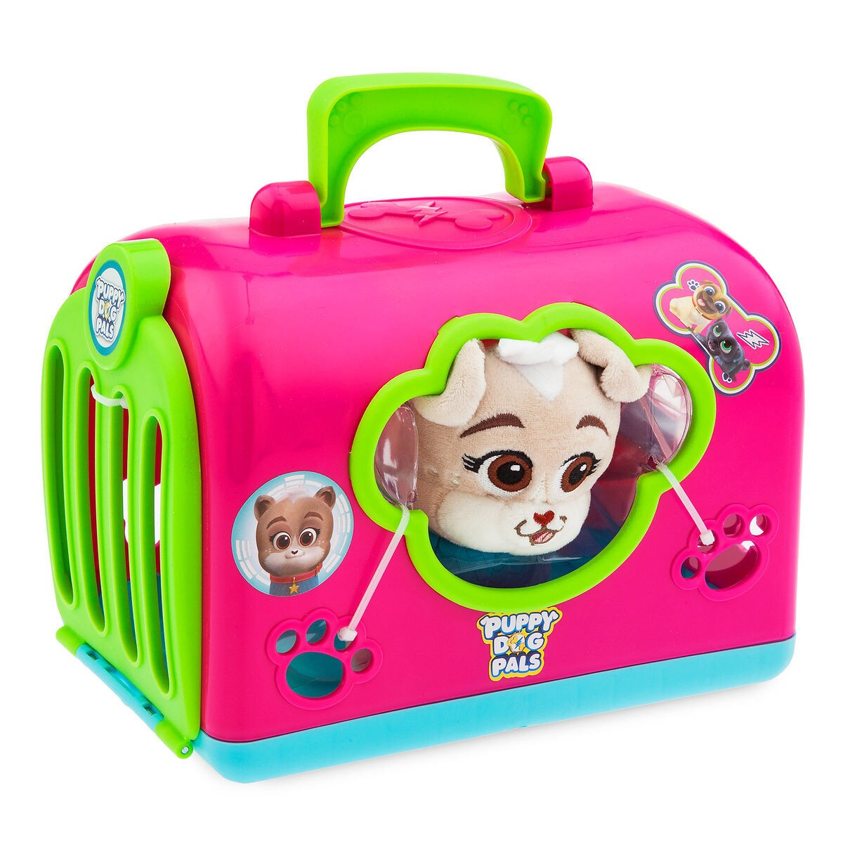 Keia Groom and Go Pet Carrier Play Set - Puppy Dog Pals  8c60f55b3bbef