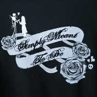 Image of Jack Skellington and Sally Fashion Sweatshirt for Women # 3