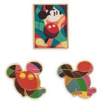 Image of Mickey The True Original Exhibition Pin Set # 1