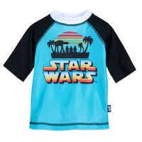 Image of Star Wars Rash Guard for Boys # 1