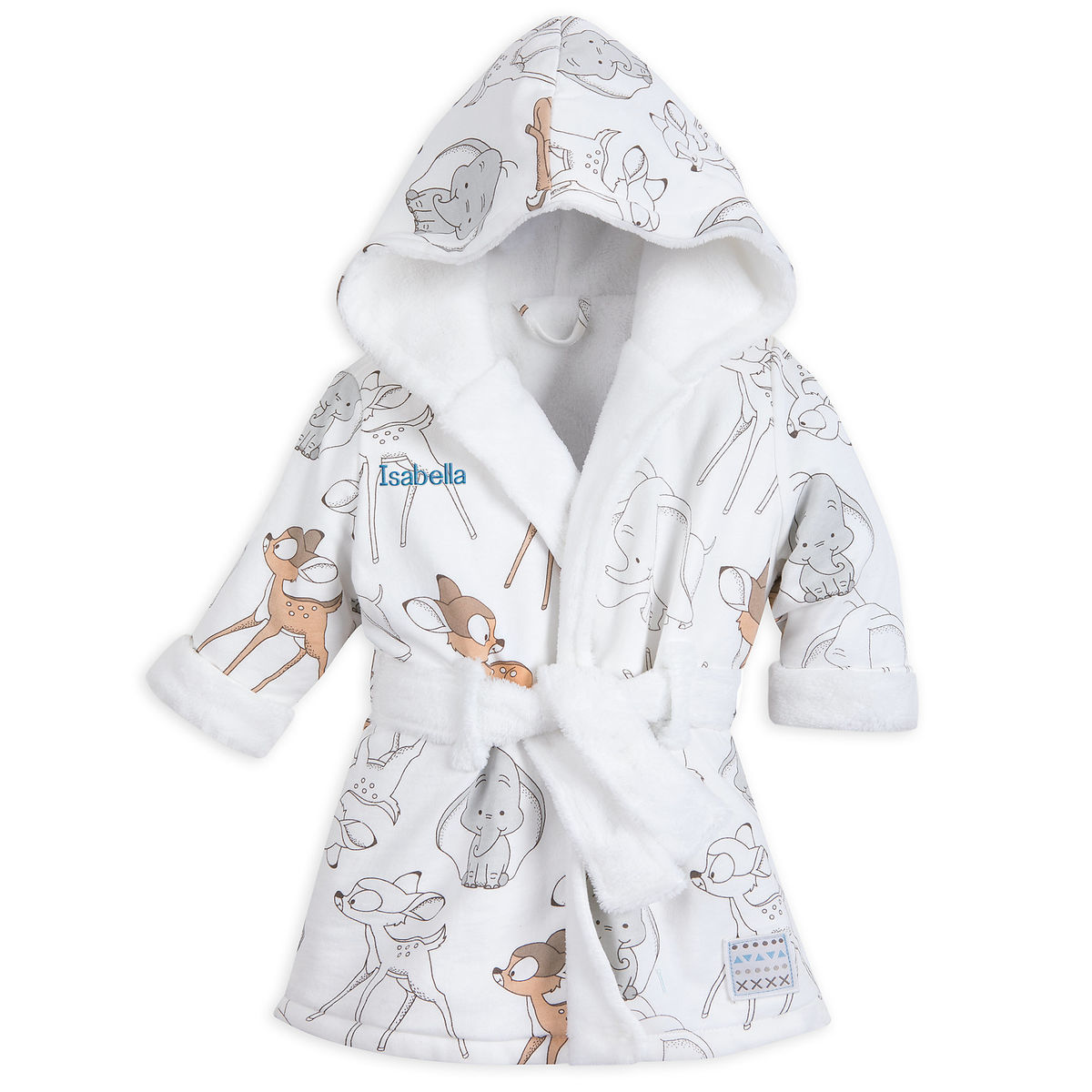 0bebe8e8b3 Product Image of Disney Classics Hooded Robe for Baby - Personalizable   1