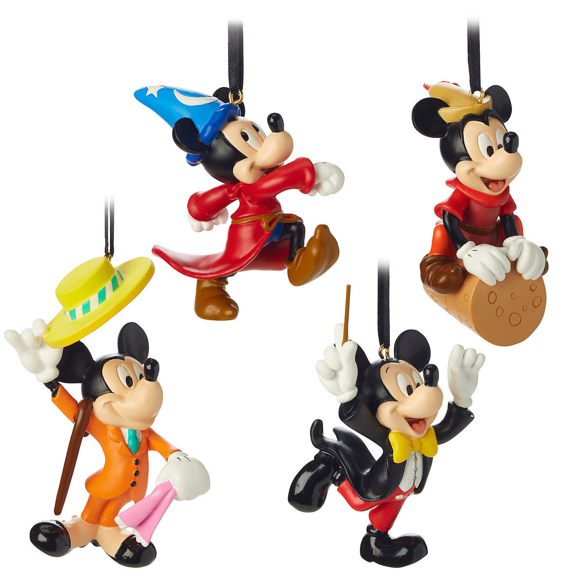 Product Image Of Mickey Mouse Through The Years Mini Ornament Set 2 1