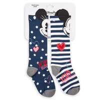 Mickey and Minnie Mouse Sweethearts Socks - Girls