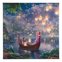 Image of ''Tangled'' Gallery Wrapped Canvas by Thomas Kinkade Studios # 1