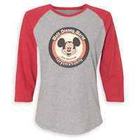 Image of Mickey Mouse Family Vacation Raglan Shirt for Women - Walt Disney World 2019 - Customized # 2