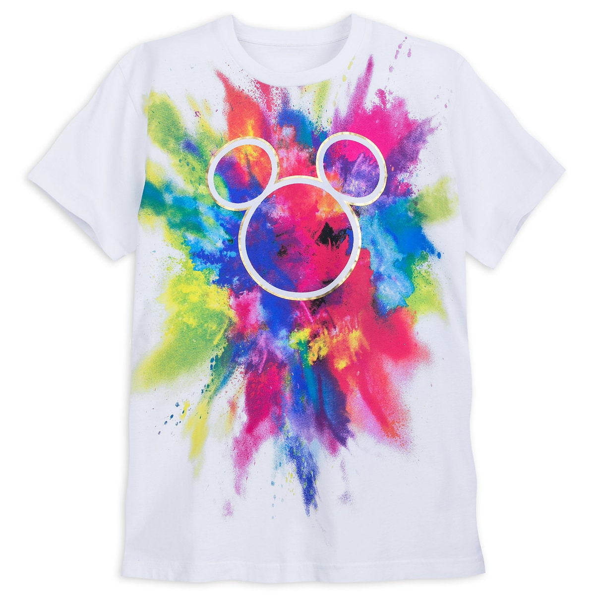 Product Image of Rainbow Mickey Collection T-Shirt for Adults # 1