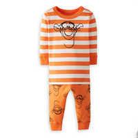 Image of Tigger Organic Long John Pajama Set for Baby by Hanna Andersson # 1