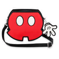 Image of Mickey Mouse Shorts Crossbody Bag by Loungefly # 1